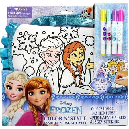 Disney Frozen Color 'n Style Purse - Frozen Purse