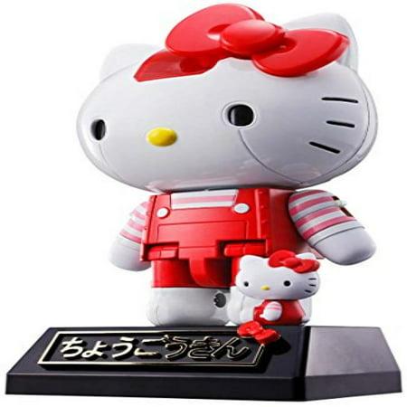 Super Robot Chogokin Hello Kitty - Red by Bandai Japan