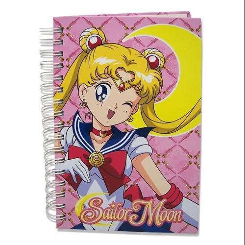 Sailor Moon Hard Cover Notebook