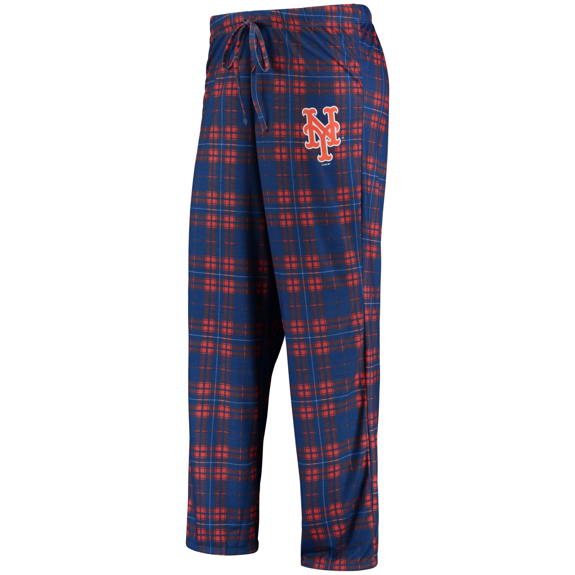 New York Mets Concepts Sport Women's Plus Size Rush Knit Pants - Royal/Orange