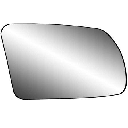 Altima Side Mirror (80214 - Fit System Passenger Side Non-heated Mirror Glass w/ backing plate, Nissan Altima Coupe 08-13, Altima Hybrid 07-11, Altima Sedan 07-12, non-foldaway mirror, 4 7/ 16