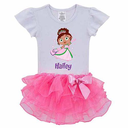 Personalized Super Why! Princess Presto Toddler Girl Tutu Shirt