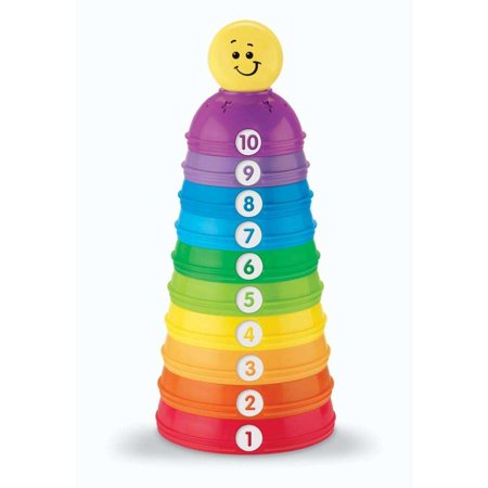 Fisher-Price Brilliant Basics Stack and Roll Cups