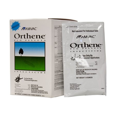 Commercial Insecticide for Roaches - 1 pack, Ornamental Pests on trees and shrubs. Ants (including imported fire ants), Cockroaches, Crickets,.., By Orthene PCO