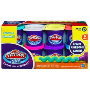 Play-Doh Plus Variety 8 Pack, 8 oz