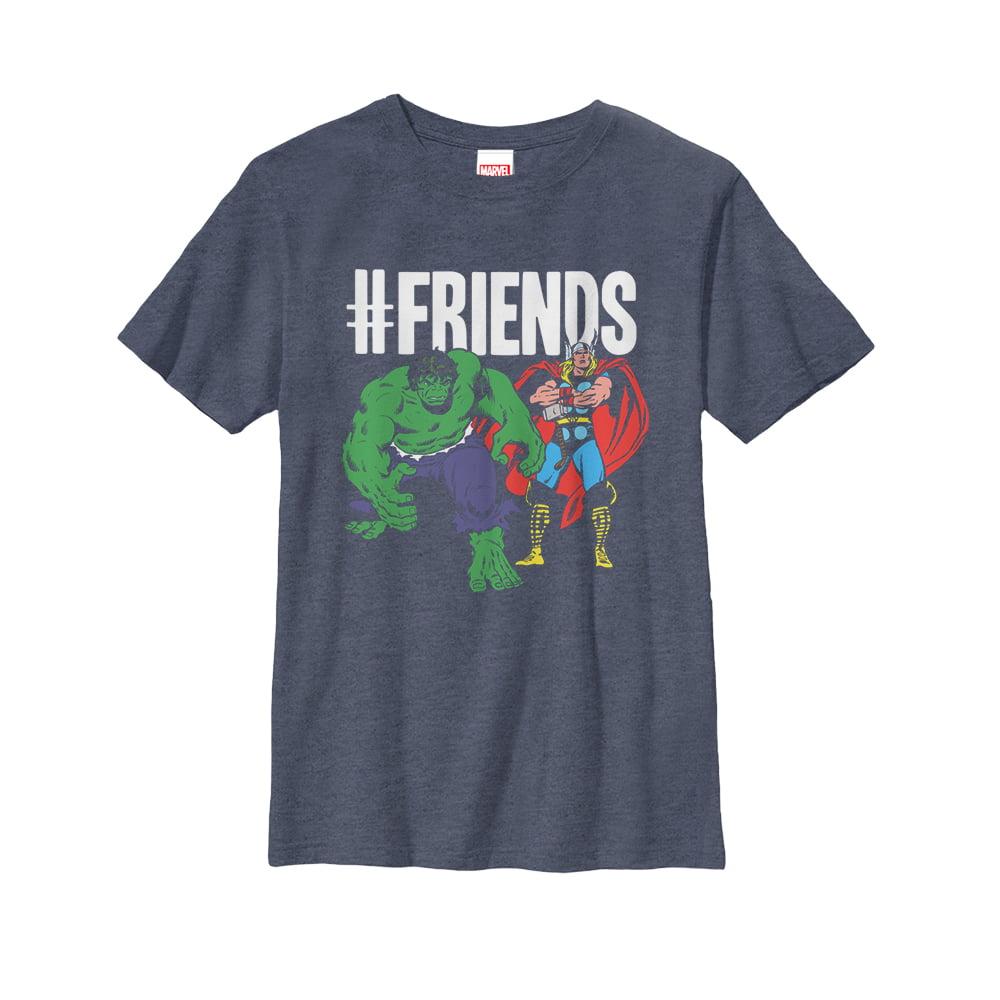 Marvel #Friends Thor Hulk Boys Graphic T Shirt