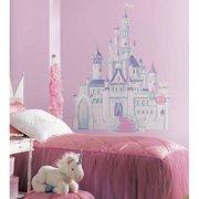 Wallhogs Disney Cinderella Princess Castle Cutout Wall Decal (Set of 6)
