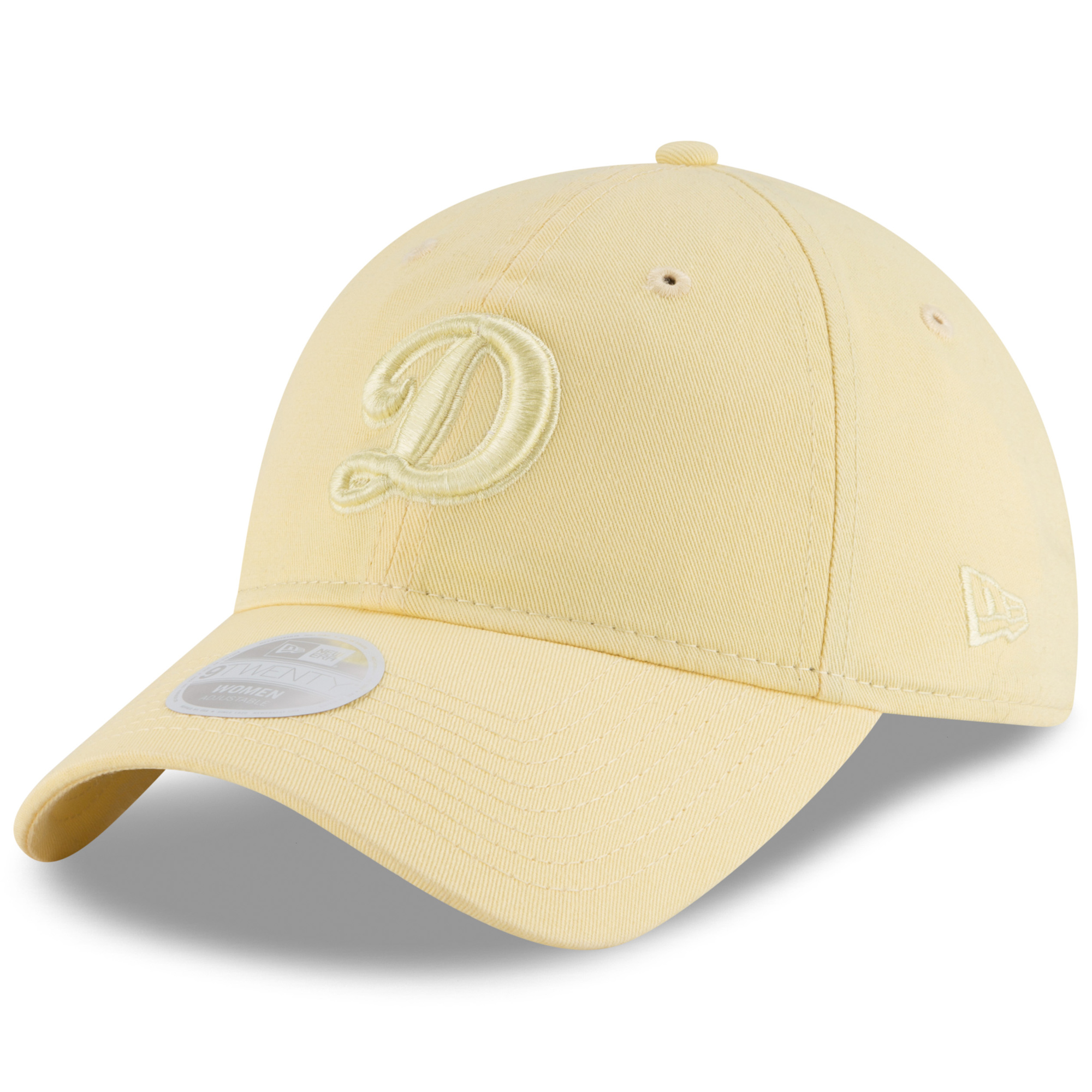 pretty nice 96cc0 ece00 ... greece los angeles dodgers new era womens core classic 9twenty tonal  pastel adjustable hat yellow 2056a
