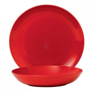 MAZE CHILLI RED 2-PIECE SERVING SET
