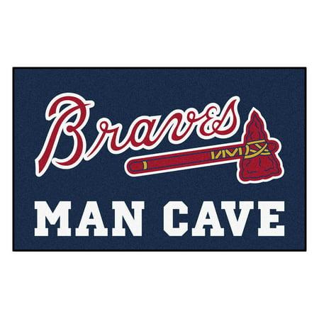 Atlanta Braves Mat - MLB - Atlanta Braves Man Cave UltiMat 5'x8' Rug