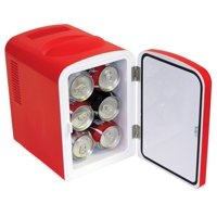 Deals on Classic Coca Cola 4 Liter/6 Can Portable Fridge/Mini Cooler