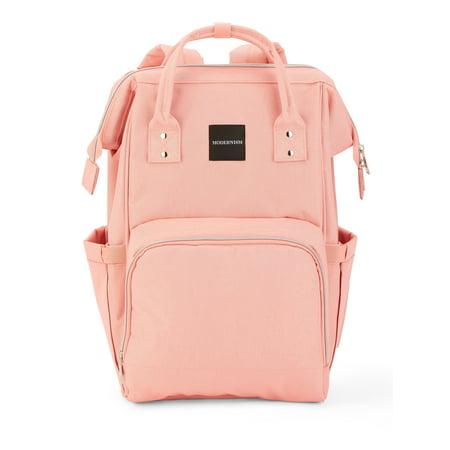 Pink MODERNISM Backpack Diaper Bag