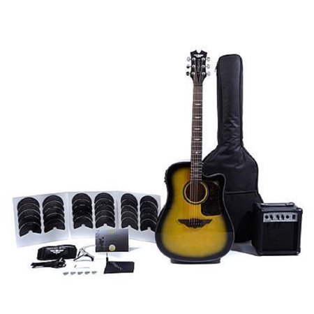 Keith Urban Acoustic Electric Guitar Ripcord 40-pc Brazilian Burst (Best Fender Acoustic Electric Guitar)
