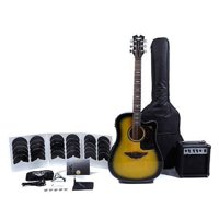 Keith Urban Acoustic Electric Guitar Ripcord 40-pc Brazilian Burst (Right-Handed)