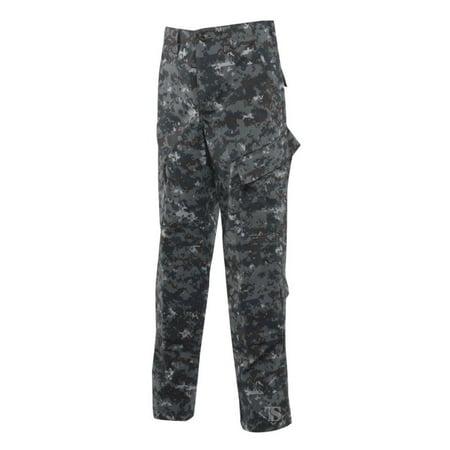 Tru-Spec Tactical Response Pants, POLYCO Rip, Midnight Digital, Large, Long - image 1 of 1