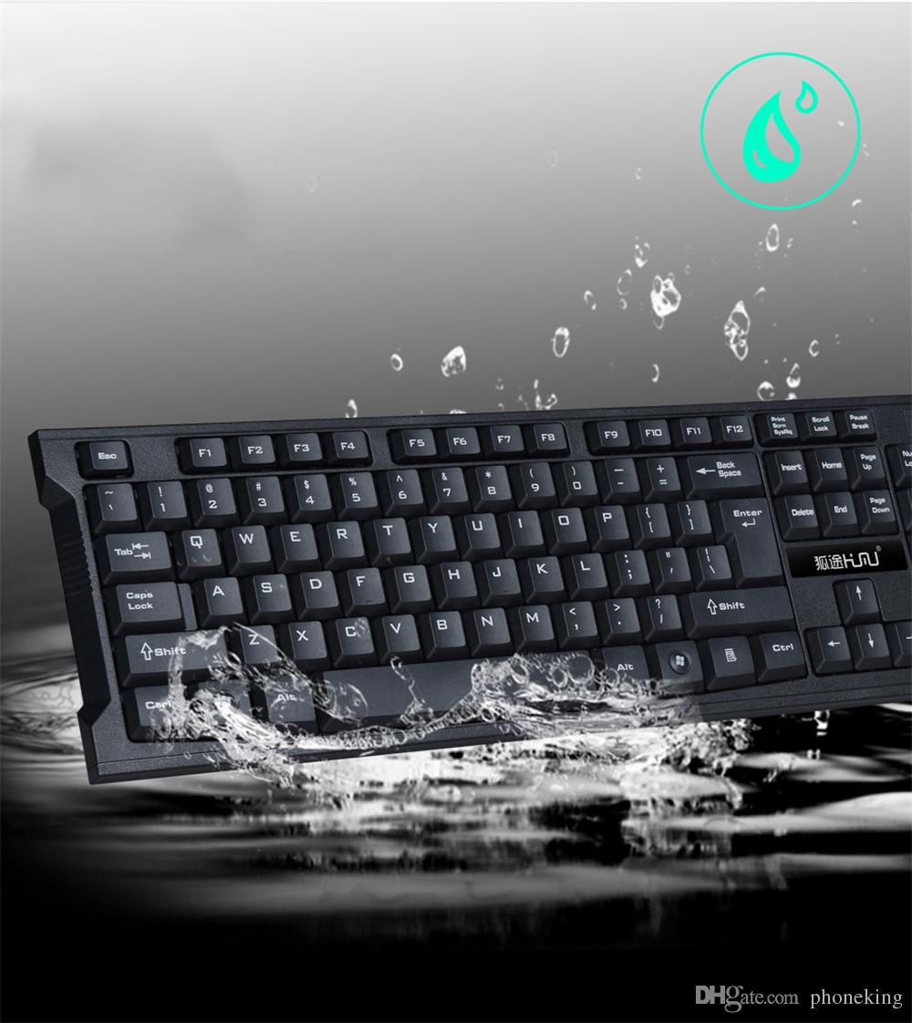 2.4Ghz Wireless Gamer Keyboard and Mouse Combo Set for Desktop Computer PC Laptop Android box and Smart TV