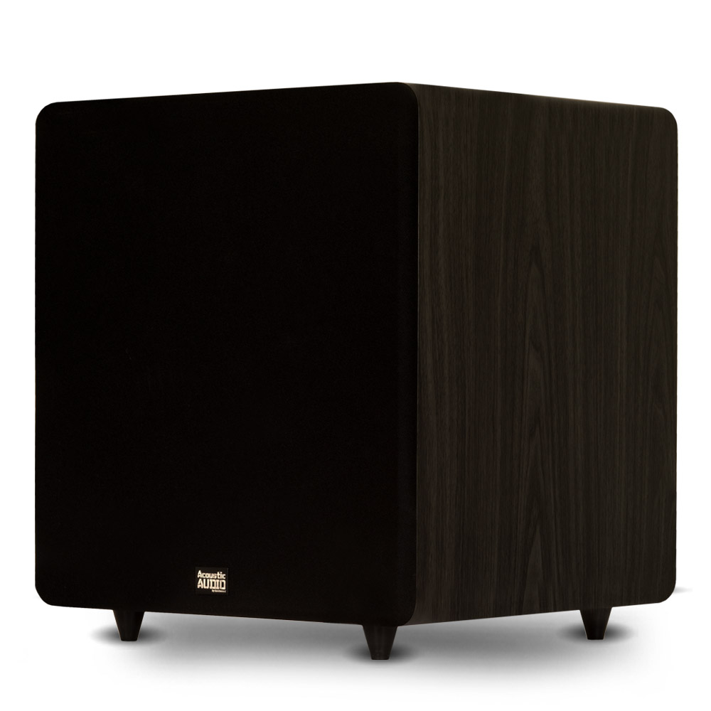"Acoustic Audio PSW600-15 Home Theater Powered 15"" LFE Subwoofer Black Front Firing Sub by Acoustic Audio by Goldwood"