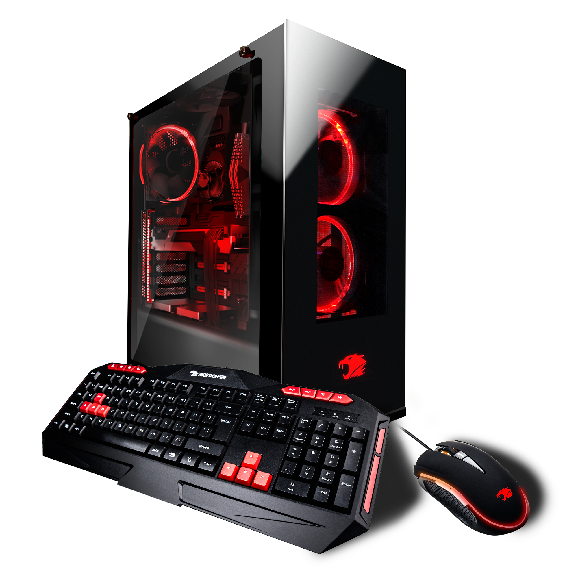 iBUYPOWER WA043i - Gaming Desktop PC - Intel i7 8700k - 16GB DDR4 Memory - NVIDIA GeForce RTX 2080 8GB - 1TB Hard Drive - 480GB SSD - (No Monitor Included)