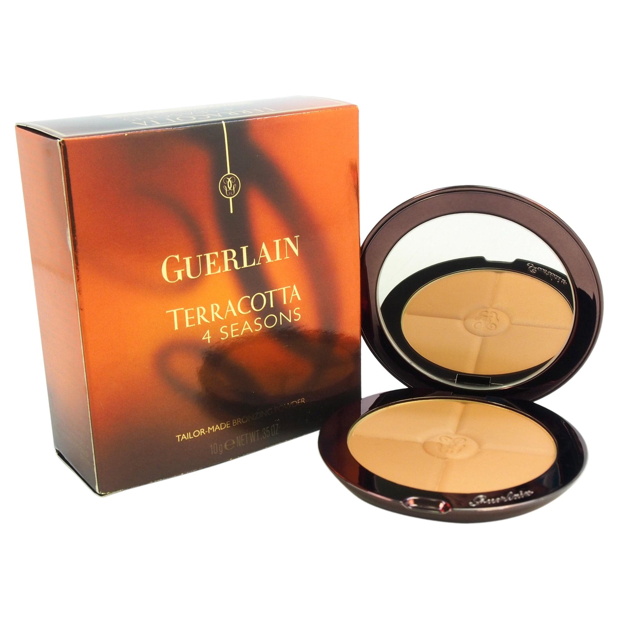 Guerlain Terracotta 4 Seasons Contour and Bronzing Powder with SPF 10, 02 Naturel Blondes, 0.35 Oz
