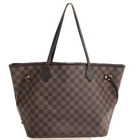Louis Vuitton - PRE-OWNED Neverfull Damier Ebene Mm 232974 Brown Coated  Canvas Tote - Walmart.com 4bdbf0b4aa984
