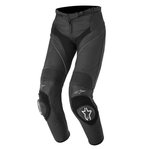 Alpinestars Stella Missile Womens Sport Riding Leather Pants Black