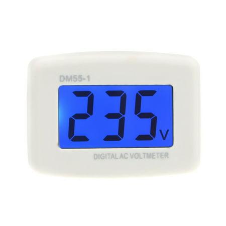 DM55-1 AC 80-300V LCD Digital Volt Meter Voltmeter US Plug Electric Pen Meters