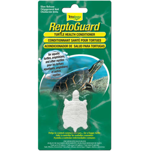 TetraFauna ReptoGuard Turtle Health Conditioner Block, 1-Count