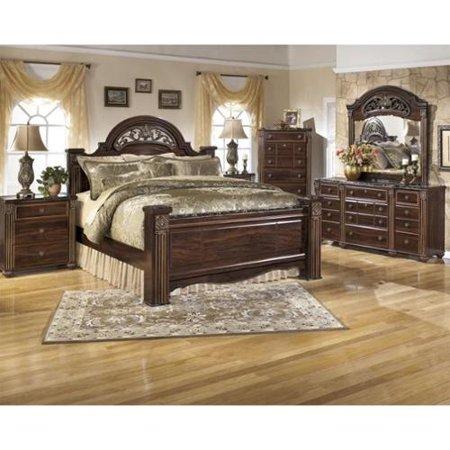 Ashley Gabriela 6 Wood Panel Bedroom Set 492 Product Photo
