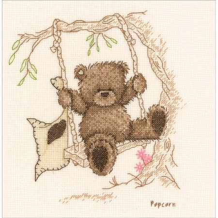 Vervaco V0011188 Popcorn Bear - Counted Cross Stitch - image 1 of 1