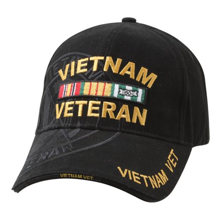 Deluxe Vietnam Veteran Low Profile Shadow Cap, Hat