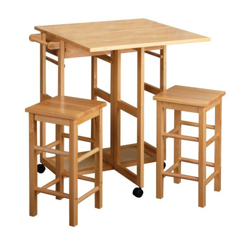 Luxury Home 3 Piece Coutner Height Dining Set