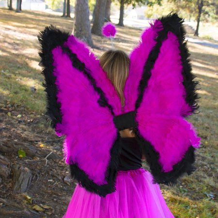 Zucker Feather Products Day-Glo Butterfly Wings - 24