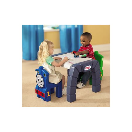 Little Tikes Take Along Thomas & Friends Plastic Table and Chairs ...