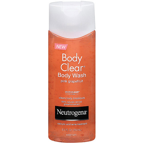 Neutrogena Body Clear Body Wash, Pink Grapefruit, 8.5 fl oz