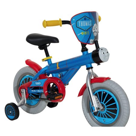 THOMAS & FRIENDS  Boys' Thomas Blue Steel 12-inch Wheel Bike ()