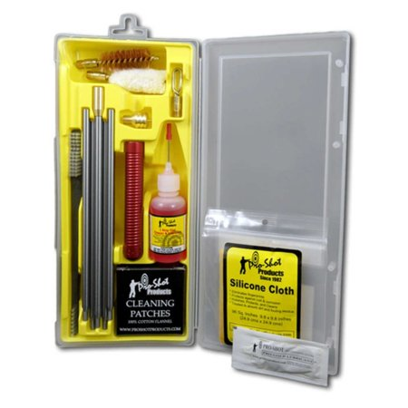 Pro-Shot 20 Gauge Shotgun Box Cleaning Kit, New Compact Design kit contains everything you need to cleaning a firearm By Pro