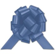 Deluxe Small Business Sales 257-0418-16 4 in. Satin Perfect Pull Bows, Royal Blue