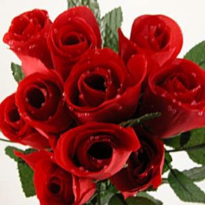 Artificial Red Silk Roses - Silk Red Roses