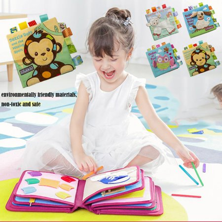 Intellectual Baby Books Toy Girl Boys Gifts Parent-child Interaction Toys - image 6 de 6