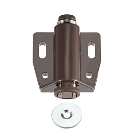 Magnetic Touch Catch Latch Closures Nylon Brown For
