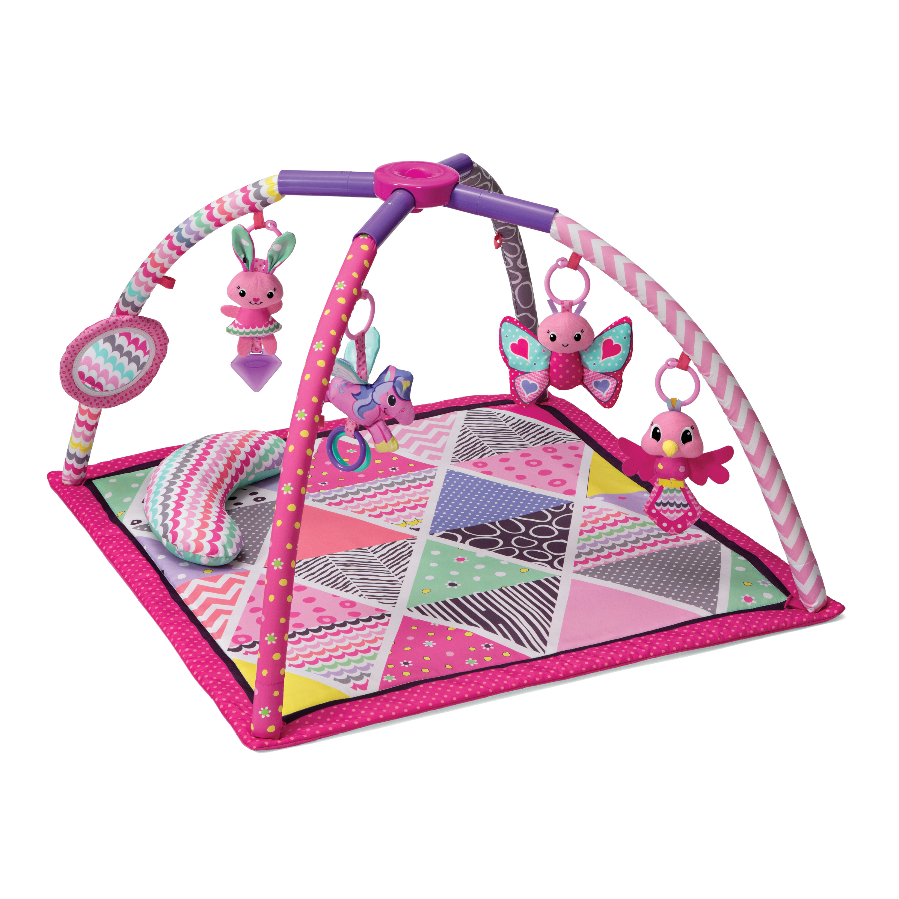 Infantino Lil Gems Twist And Fold Activity Gym And Play