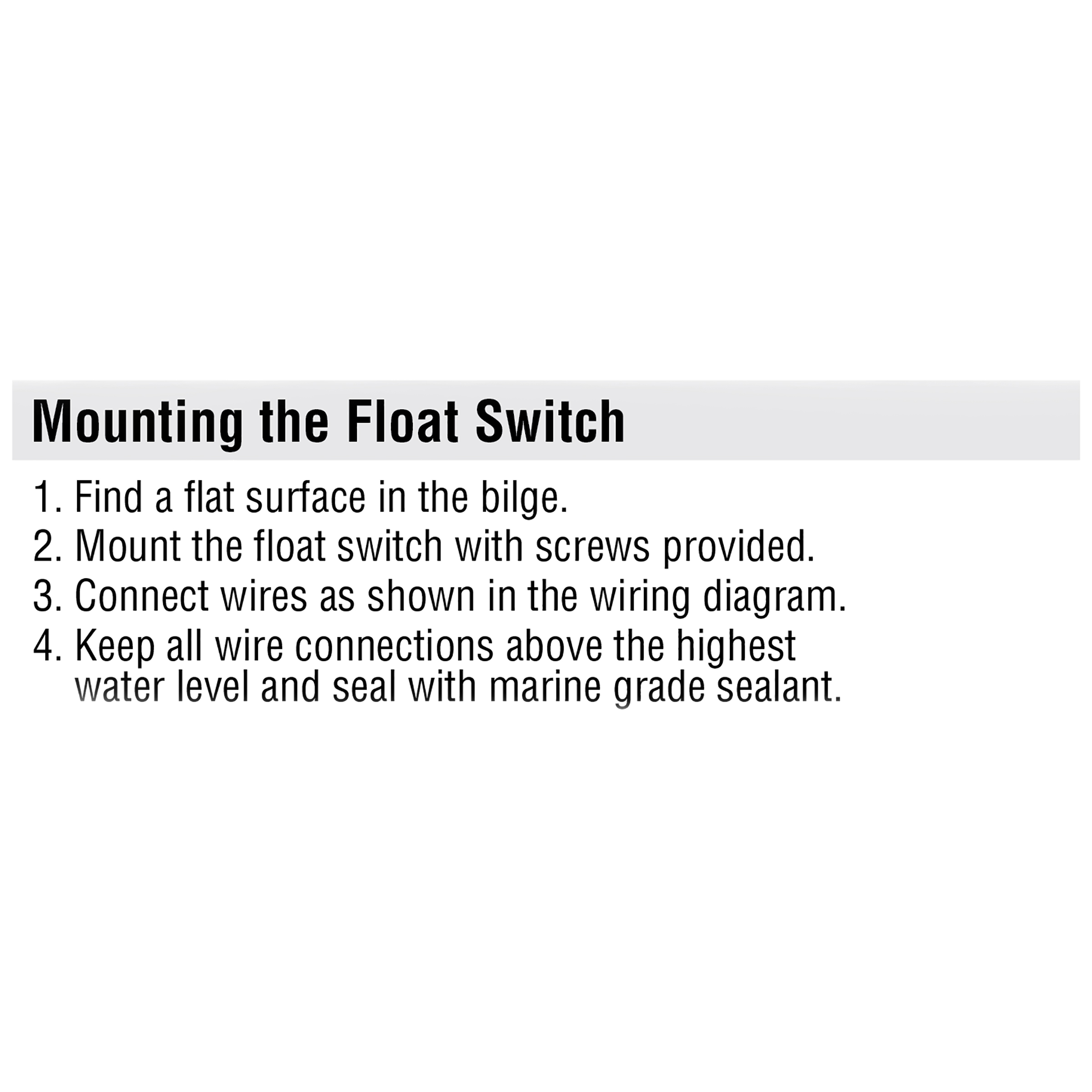 30 Bilge Pump Wiring Diagram With Float Switch