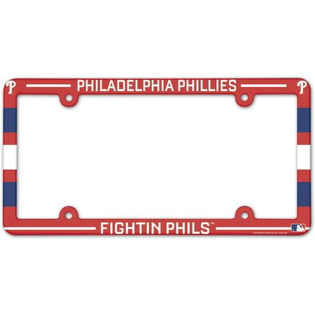 Philadelphia Phillies WinCraft Team License Plate Frame - No Size