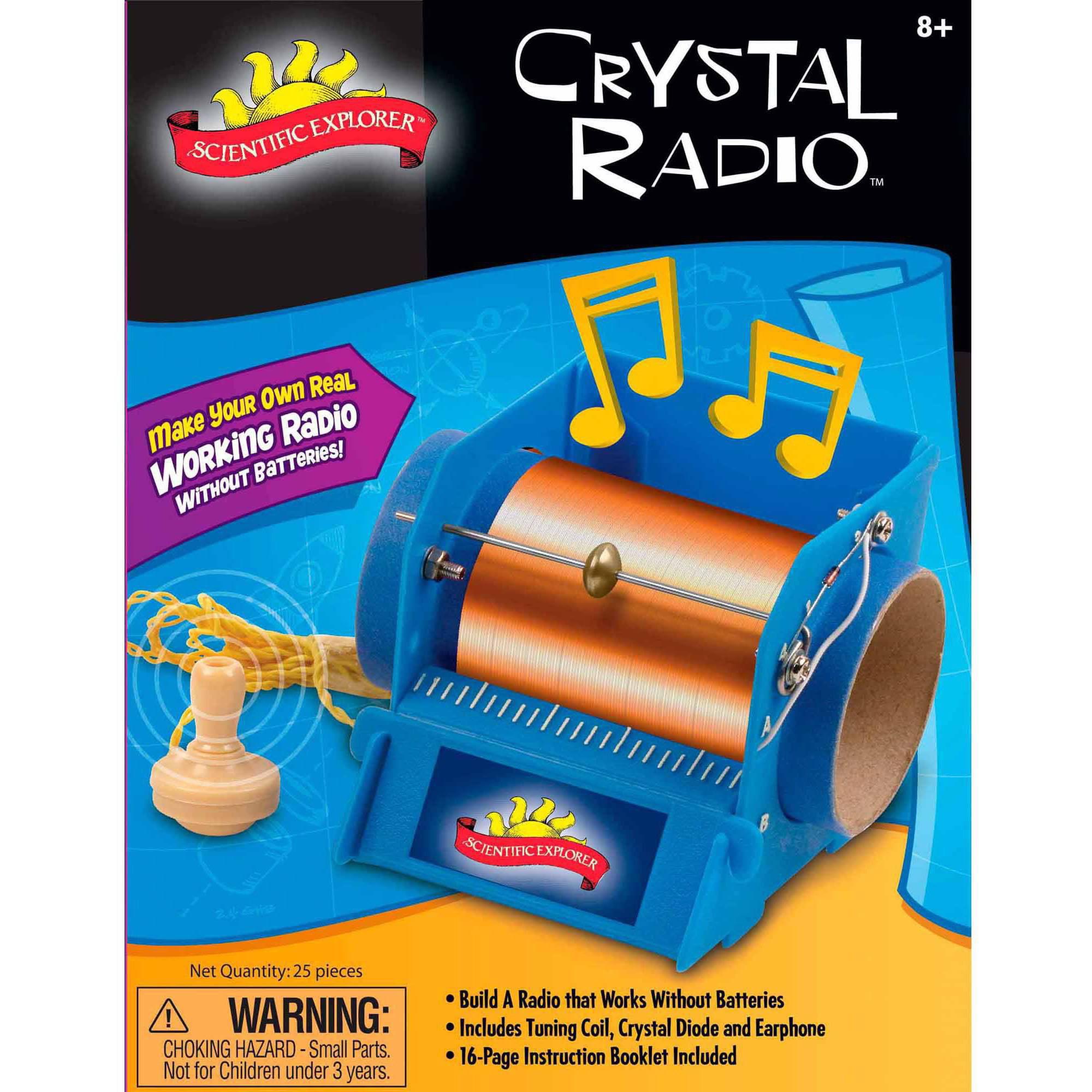Scientific Explorer Crystal Radio Mini Lab