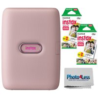 Fujifilm Instax Mini Link Smartphone Printer Dusty Pink | 40 Exposures