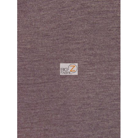 Neoprene Material - Neoprene Scuba Techno Athletic Double Knit All-Purpose Fabric / Heather/Wine / Sold By The Yard