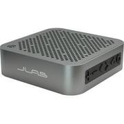 JLab Audio Crasher Mini Bluetooth Speaker - Black - Wireless Splashproof Portable Rugged