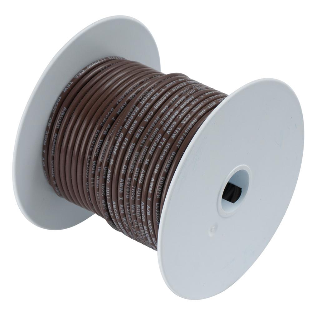 Ancor Marine Grade Tinned Copper Primary Wire, 12 ga - Walmart.com