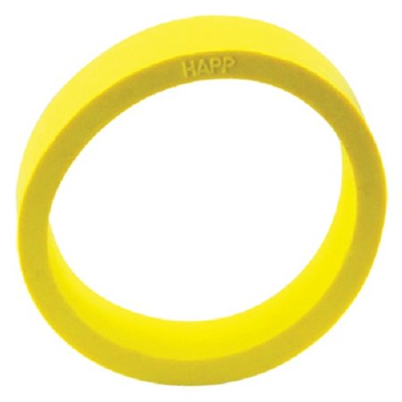 Yellow Flipper Rubber, 1.5 inch x .5 inch, 45 Durometer, for Stern Pinball