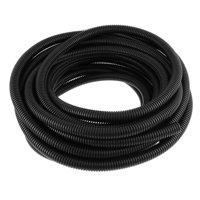 Unique Bargains Electric Cable Wire Protecting Corrugated Tube Hose Protector 11M 2pcs